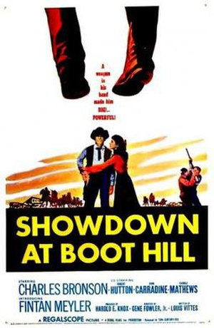 Showdown at Boot Hill - Theatrical release poster
