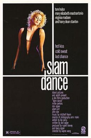 Slam Dance (film) - Theatrical release poster