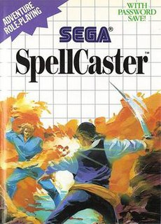 <i>SpellCaster</i> (video game) 1988 video game