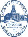 Official seal of Spencer, Massachusetts
