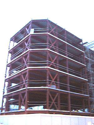 Steel frame - Image: Steel frame development