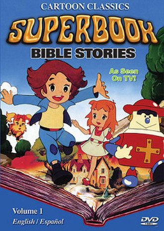 Superbook - Cover of the first DVD volume