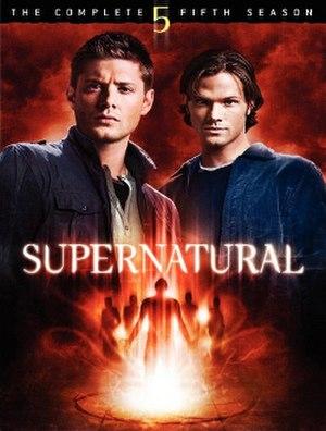 Supernatural (season 5) - DVD cover art