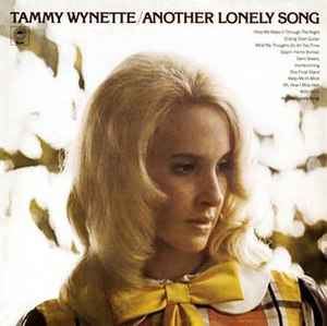Another Lonely Song (album) - Image: Tammy Wynette Another Lonely Song