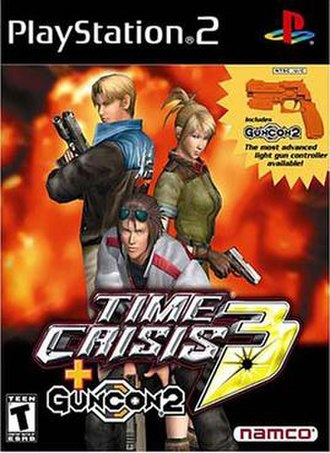 Time Crisis 3 - Cover art