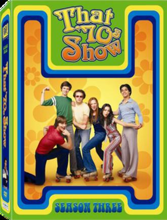 That '70s Show (season 3) - DVD cover