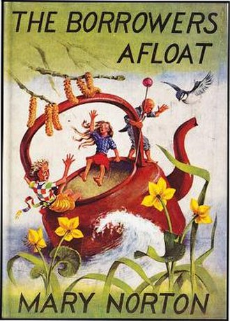 The Borrowers Afloat - First edition (UK)