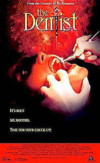 <i>The Dentist</i> 1996 film by Brian Yuzna