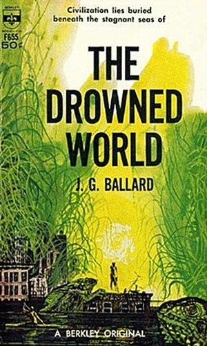 The Drowned World - Cover of first edition (paperback)