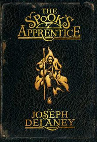 The Spook's Apprentice - Book cover for The Spook's Apprentice
