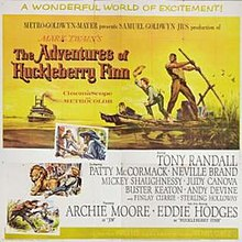 The Adventures of Huckleberry Finn (1960 film) poster.jpg