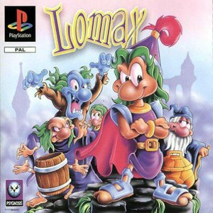 The Adventures of Lomax - PlayStation version cover art