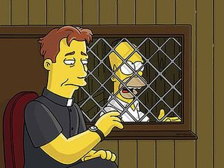 The Father, the Son, and the Holy Guest Star 21st episode of the sixteenth season of The Simpsons