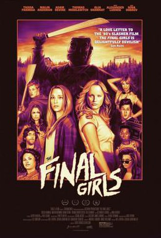 The Final Girls - Theatrical release poster