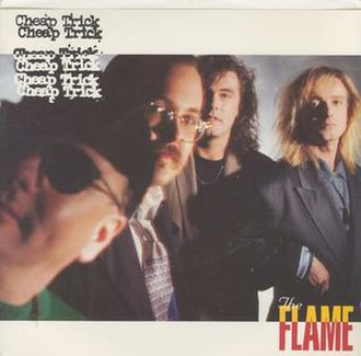 The Flame (Cheap Trick song) - Image: The Flame (Cheap Trick single cover art)