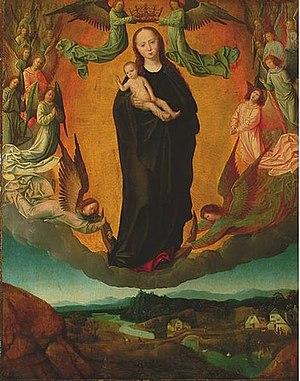 Albert Cornelis - The Glorification of the Virgin