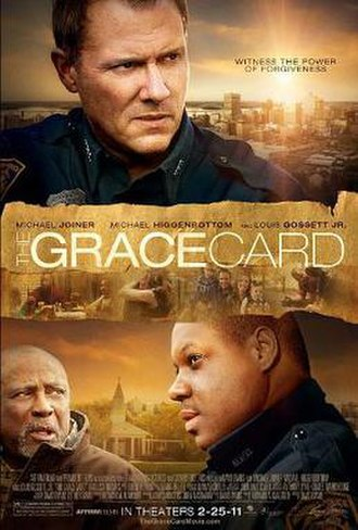 The Grace Card - Theatrical release poster