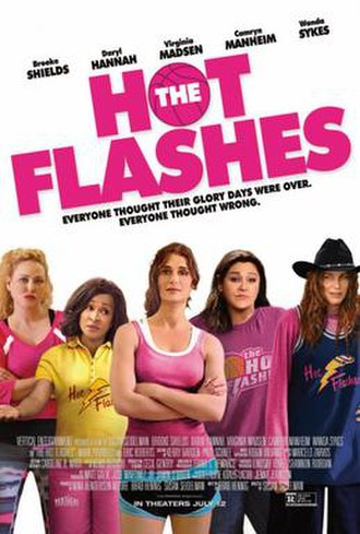 The Hot Flashes - Theatrical release poster
