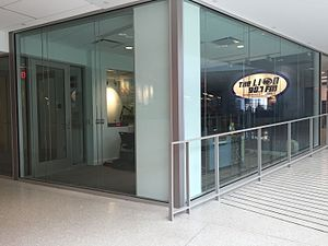 """WKPS - The LION 90.7fm's 2015 """"Room 37"""" HUB-Robeson Center facilities."""
