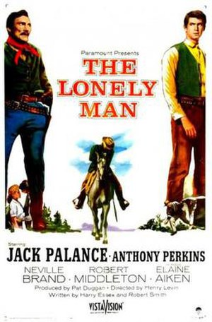 The Lonely Man - Theatrical release poster