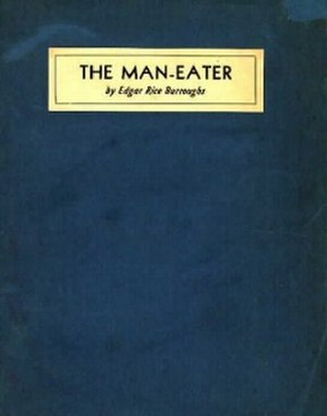 The Man-Eater - Cover art from first edition