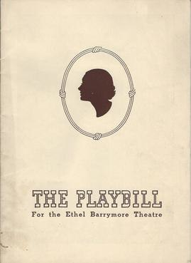 The Playbill 1939 cover
