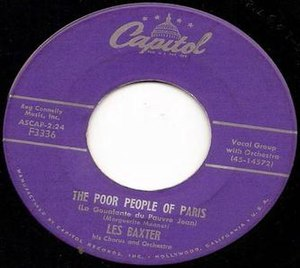 The Poor People of Paris - Image: The Poor People of Paris (Les Baxter)