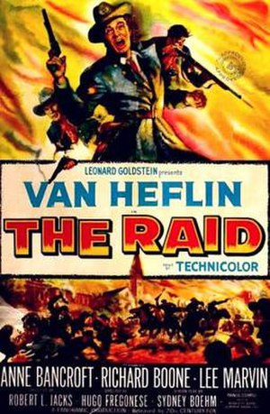 The Raid (1954 film) - Image: The Raid Film Poster