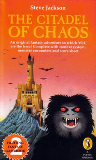 The Citadel of Chaos - Cover of the first edition
