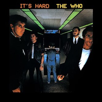 It's Hard - Image: The who its hard album