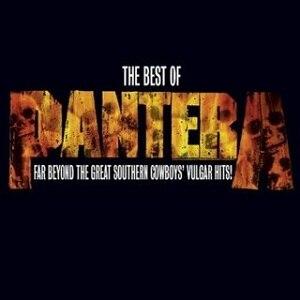 The Best of Pantera: Far Beyond the Great Southern Cowboys' Vulgar Hits! - Image: Thebestofpantera
