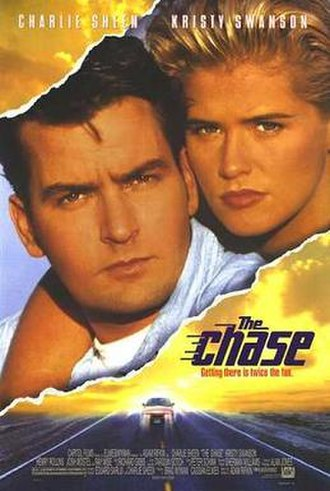 The Chase (1994 film) - The movie cover for The Chase.