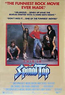 <i>This Is Spinal Tap</i> 1984 film by Rob Reiner
