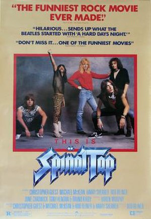 This Is Spinal Tap - Theatrical release poster