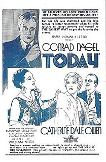 <i>Today</i> (1930 film) 1930 film by William Nigh, Melville Shyer