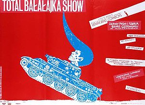 Total Balalaika Show - Polish theatrical poster