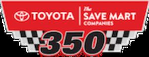 Toyota/Save Mart 350 - Image: Toyota Save Mart 350 logo