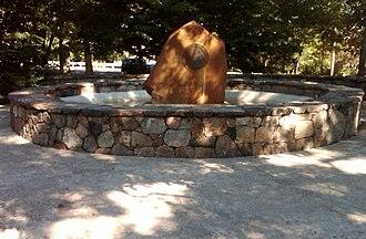 Trumbull, Connecticut - Bicentennial Fountain.