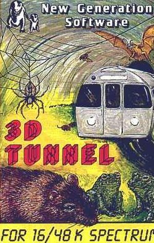 3D Tunnel - Cover art