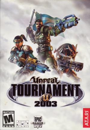 Unreal Tournament 2003 - Image: Unreal Tournament 2003 cover