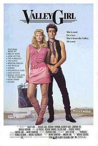 Valley Girl (1983 film) - Theatrical release poster