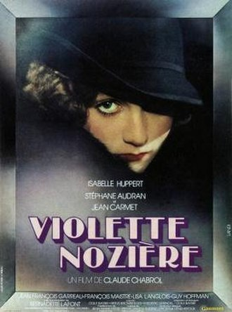 Violette Nozière - French Theatrical Release Poster