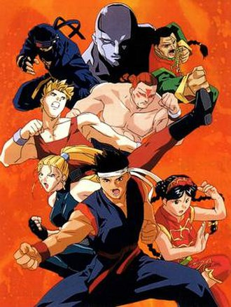 Virtua Fighter (TV series) - Cast of the anime.