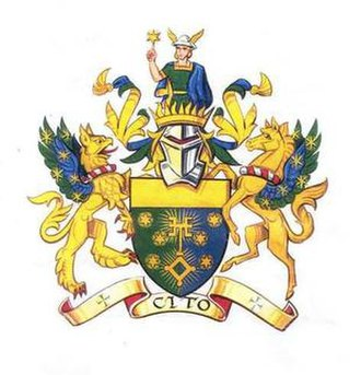 Worshipful Company of Information Technologists - The coat of arms of the Worshipful Company of Information Technologists