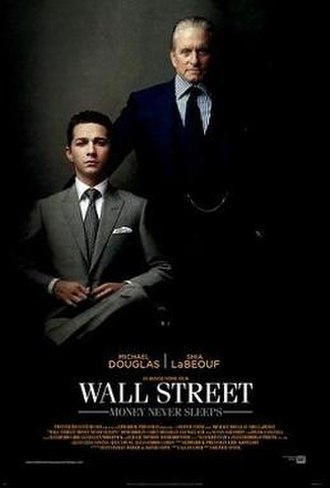 Wall Street: Money Never Sleeps - Theatrical release poster