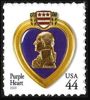 Washington Purple Heart 2001 Issue-44c