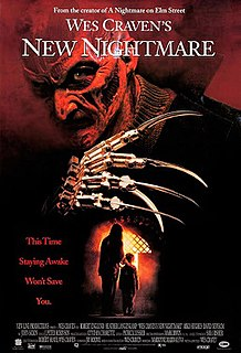 <i>Wes Cravens New Nightmare</i> 1994 American meta slasher film by Wes Craven