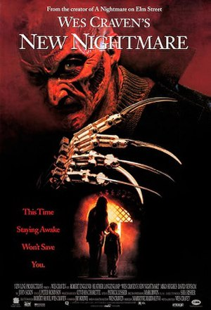 Wes Craven's New Nightmare - Theatrical release poster
