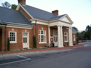 Transportation in Hampton Roads - Williamsburg Transportation Center is an intermodal facility located in a restored Chesapeake and Ohio Railway station located within walking distance of Colonial Williamsburg's Historic Area, the College of William and Mary, and the downtown area.