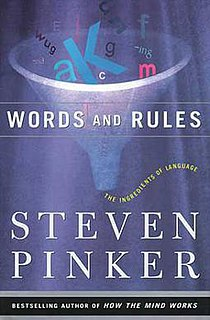 <i>Words and Rules</i> popular linguistics book by Steven Pinker